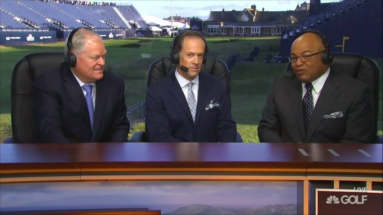 nbc earns b grade for british open coverage  johnny miller