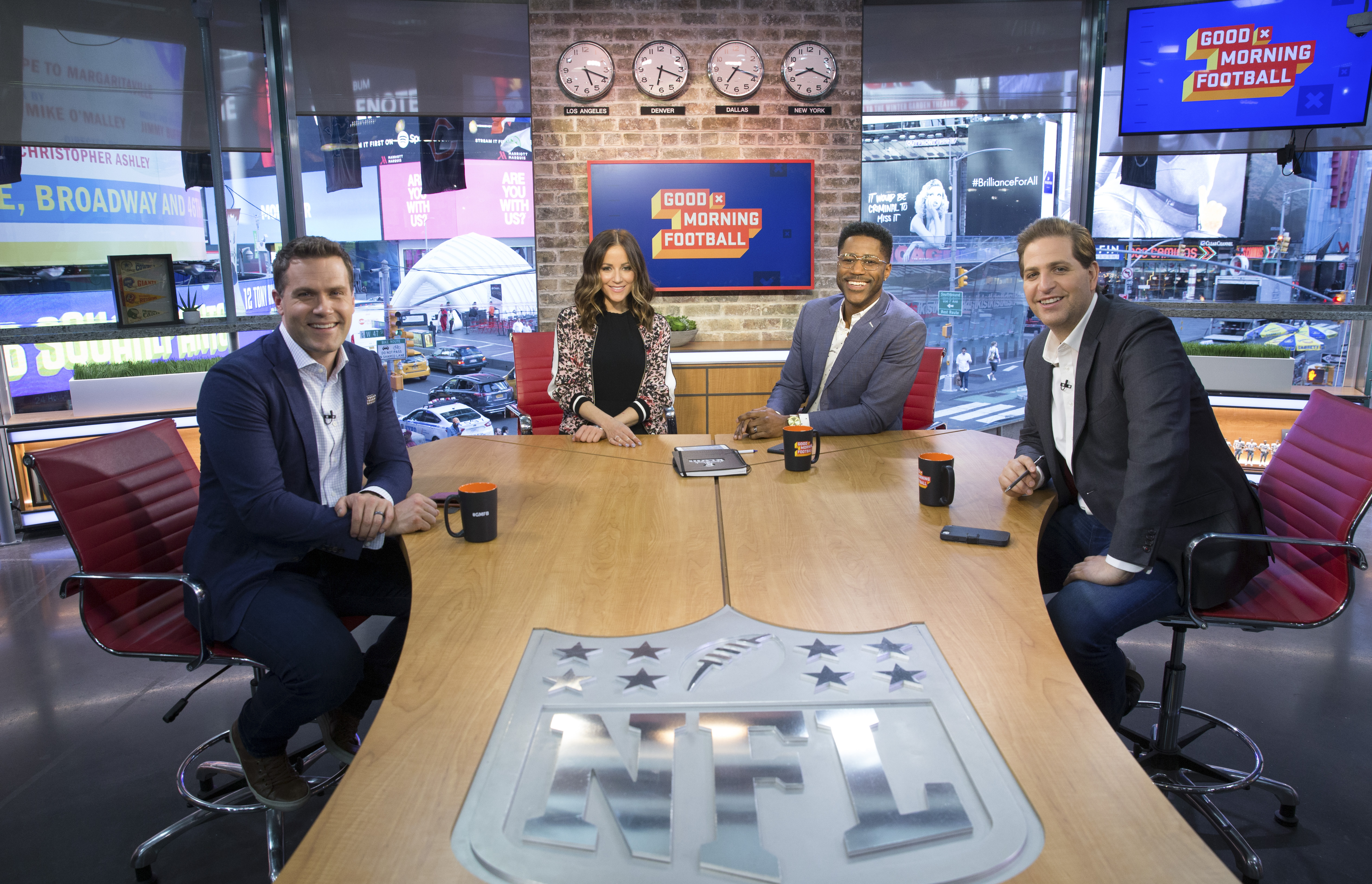 b2b1174c Good Morning Football' - NFL Network's diverse quartet mixes news ...