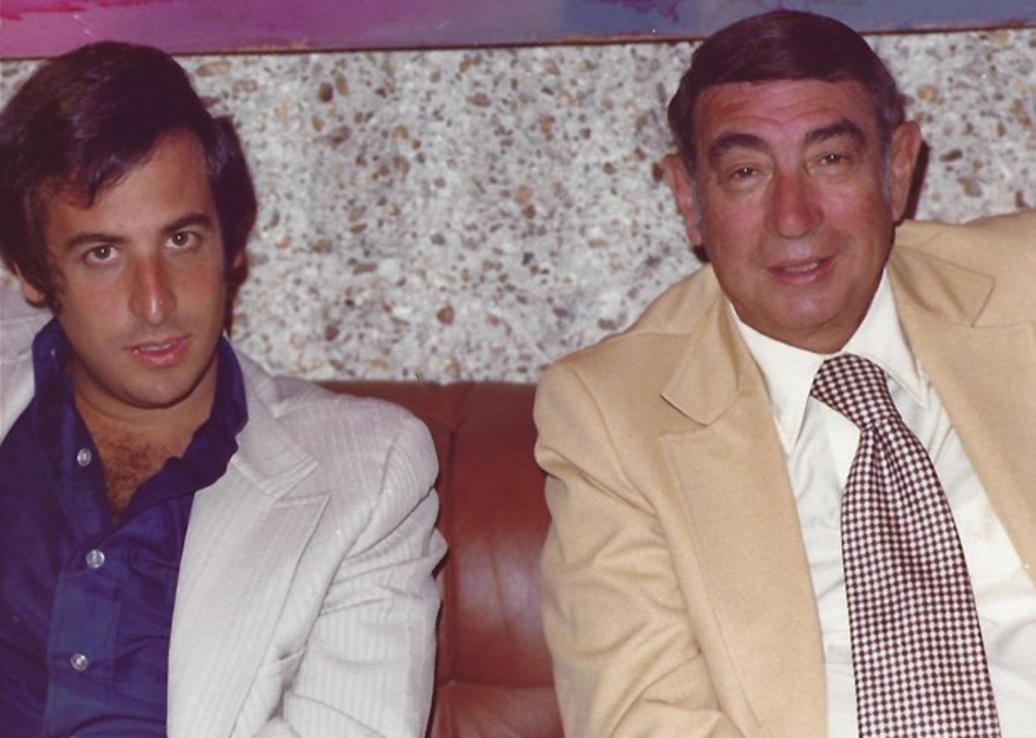 Dennis Lewin and Howard Cosell