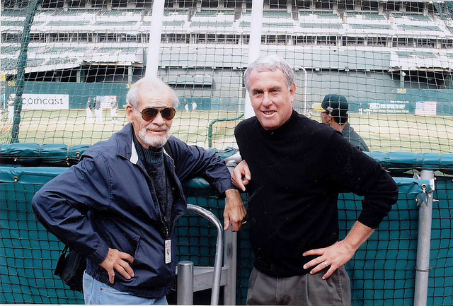 """Ken Korach; 23 years with the A's: """"Preparation is from the field up to the booth, not the other way"""" - Sports Broadcast Journal"""