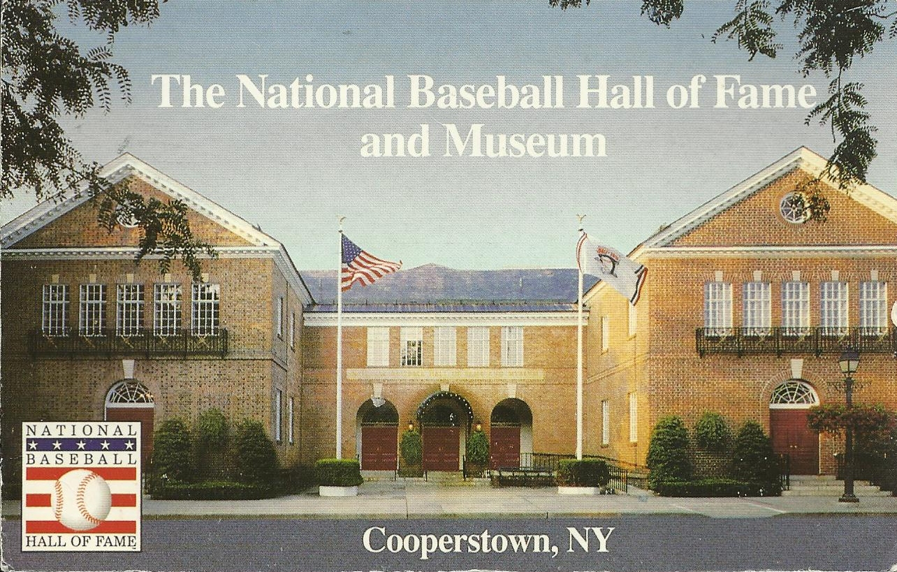Image result for first baseball hall of fame""