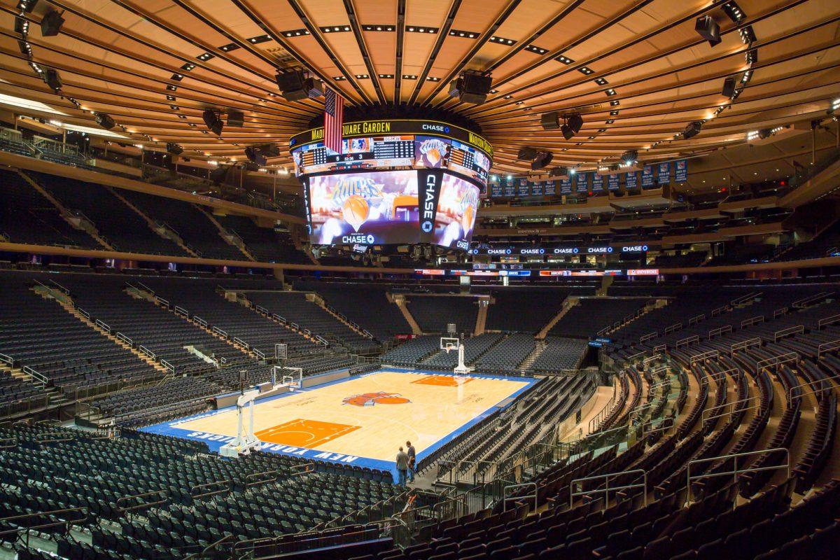 Madison Square Garden Can Help Fight Coronavirus Is The Kentucky